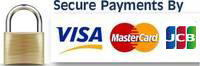 Secured online payment protected by 2048bit SSL Certificate